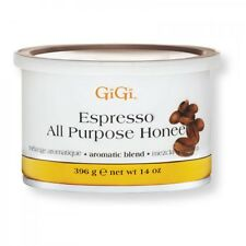 10 Jars - GiGi Espresso All Purpose Honee Wax 14oz