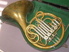 "Nice vintage rot.4V French double horn ""Amati"" needs minor service"