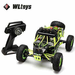 WLtoys 12427 2.4G 1/12 RC Remote Control 4WD Off Road RTR Crawler Car Buggy