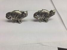 Birman Cat PP-C05 Fine English Pewter Cufflinks