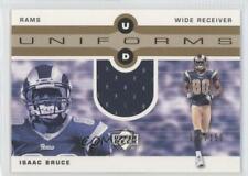 2002 Upper Deck UD Uniforms Gold /150 Isaac Bruce #UDU-IB HOF
