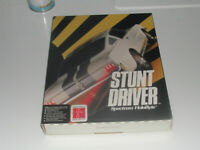 Stunt Driver IBM PC Game 3.5 Disk (1990, Sphere)