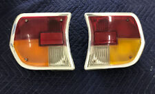 Peugeot 504 Tail Lights Pair Of Left AND Right. Used Made In France