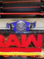 ELITE NXT CRUISERWEIGHT CHAMPIONSHIP BELT for WRESTLING FIGURE TITLE MATTEL WWE
