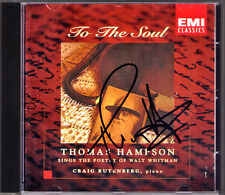 Thomas HAMPSON Signiert TO THE SOUL Walt Whitman CD Roren Bridge Hindemith Ives