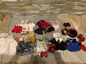 Muffy Vanderbear  Clothes Lot Vintage 1990s Bear Doll Shoes Accessories