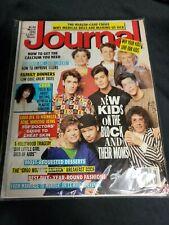 Vintage 1991 Journal Magazine New Kids On The Block