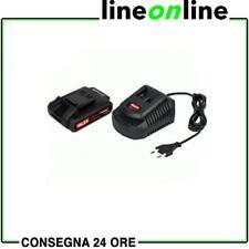 Kit batteria e caricabatterie 18V Valex OneAll 1997415 per utensili a batteri...