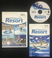 Wii Sports Resort Nintendo system Wii Game TESTED Complete VERY GOOD CONDITION