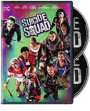 Suicide Squad DVD Film Will Smith Harley Quinn Enchantress Joker Batan The Flash