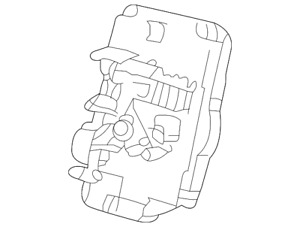 Genuine GM Lock 22666178