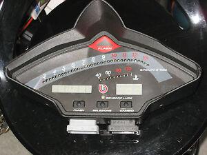 Bimota SB8K Cockpit mit ECU
