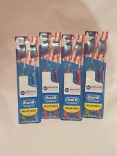 4 - 2 packs Soft Oral B Indicator Contour Clean 8 total - Free Ship
