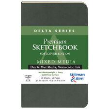 """Stillman & Birn Delta 3.5x5.5"""" Softbound Portrait Sketchbook"""