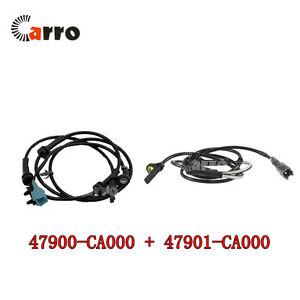 ABS Sensor Rear Left & Right For 2003-2007 Nissan Murano 47900-CA000 47901-CA000