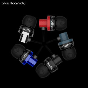 Skull Candy Titan Rare In-Ear Only Headphones Earbuds Red/Blue/Silver/Multicolor
