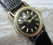 Rare Vintage 14K Solid Gold LeCoultre Manual Ladies Watch