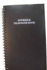 Telephone Address Book 400 Entries Name, Address,Home,Cell phone,Email, FAX