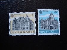 LUXEMBOURG - timbre yvert/tellier n° 1193 1194 neuf sans gomme (COL3)