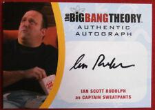 THE BIG BANG THEORY - IAN SCOTT RUDOLPH as Captain Sweatpants - Autograph Card