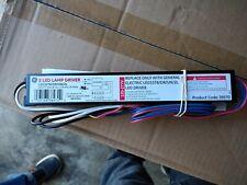 Lot of 10 GE 2 LED Lamp Driver LED15T8/DR/UN/2L / 38970 120-277V 60Hz 30W 0.32A