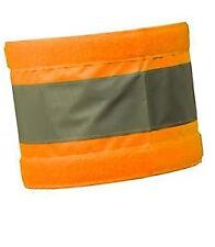 Extra Large Reflective Hi Visibility Arm Band Orange