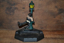 Cast Metal Ashtray Light Pole Interesting Cool Looking