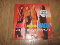 "COLOR ME BADD "" I ADORE MI AMOR "" 7"" SINGLE POSTER SLEEVE 1991 GIANT EX/EX"