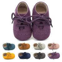 mignon enfant bébé semelle souple daim chaussures garçons filles petit mocassin