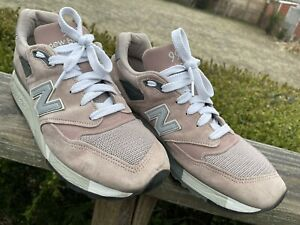 New Balance KITH M998KI1 Men's Size 9 Dusty Rose Pre-Owned FREE SHIPPING