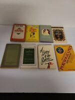 Lot Of 8 Vintage Sleaze GGA Paperback Books Pulp Erotica Rare Good Rare Lot OOP