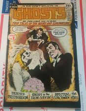 GHOSTS #1 DC CLASSIC HORROR COMIC VF+ GLOSSY & SHARP! RARE!