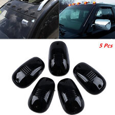 Smoked Black LED Cab Roof Top Marker Running Clearance Light Car pickup Lamp Kit