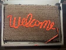 Banksy Welcome Mat Gross Domestic Product Love Welcomes New Numbered Edition GDP
