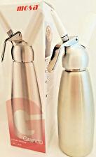 LARGE Stainless Steel N2O Cream Whipper Dispenser 1 Liter N20   Grande 1L mosa