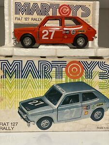 Bburago Martoys Fiat 127 Rally mint box 1/24
