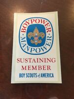Boy Scouts of America Decal #7016 Sustaining Member 2.5x 4.5