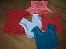 womens sz  xl shirts tops nwt, pink, red, white,BACK TO SCHOOL LOT? 2x754