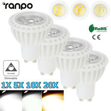 1-20X GU10 LED Spot Light Bulbs Dimmable 15W 220V Home Bright Daylight Lamp RC