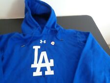 LOS ANGELES DODGERS Baseball UNDER ARMOUR Hoodie Size XL Sweatshirt NEW No Tags