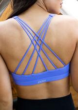 Womens Lorna Jane Activewear Extra Mile Yoga Bra Jacaranda XS
