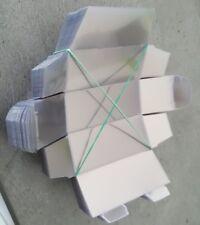 100 boites plastiques pour miniatures 1/60 majorette norev siku matchbox hotwhee