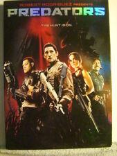 SEALED DVD : 2010 - ROBERT RODRIGUEZ - PREDATORS -SLIP CASE-ADRIEN BRODY