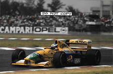 9x6 Photograph, Michael Schumacher, Benetton-Ford B191B  Mexican GP 1992