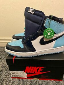Jordan 1 High UNC Patent (Blue Chill) - Size 10W (8.5 Men's) - Brand New DS