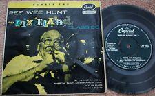 PEE WEE HUNT Dixieland Classics No.2 UK CAPITOL EP Trad Jazz