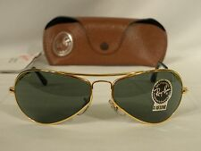 Vintage B&L Ray Ban Air Boss Aviator Gold G-15 W2615 Sunglasses USA
