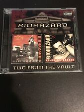 2 CD SET  BIOHAZARD TWO FROM THE VAULT RARE/NM URBAN DISCIPLINE  NO HOLDS BARRED
