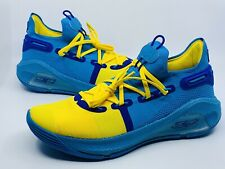 RARE Under Armour Curry 6 PE Family Business All Star 3020612-310 Size 12