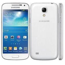 """4.3"""" Samsung Galaxy S4 Mini GT-I9195 8GB GPS NFC 8MP Débloqué Téléphone Blanc"""